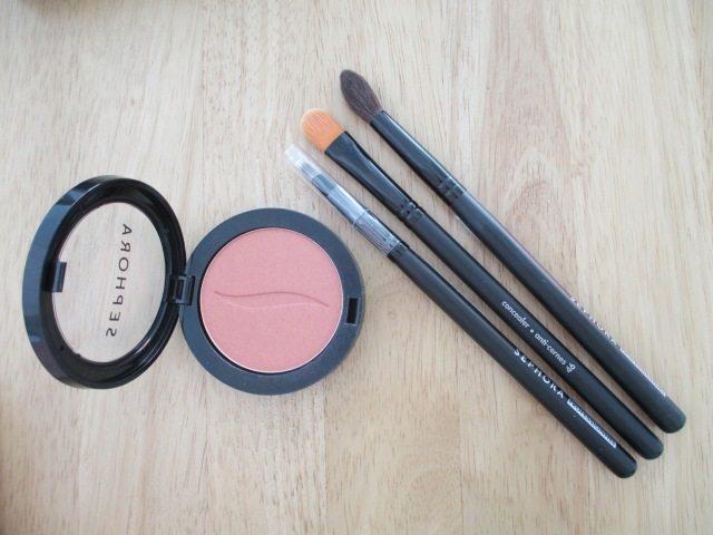 Sephora Bronzer and Make-up Brushes